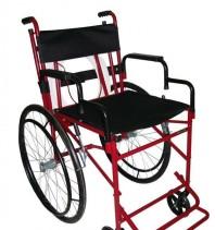 Cadeira de Rodas Versátil c/ assento social e sanitário